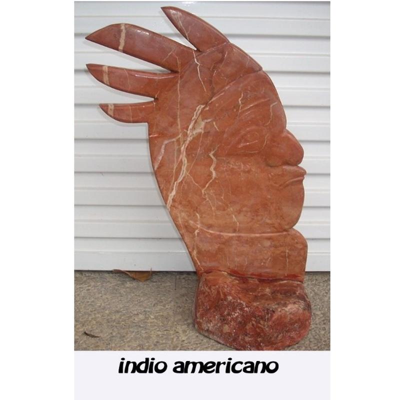 Indio americano: Esculturas de Antonia Dávalos