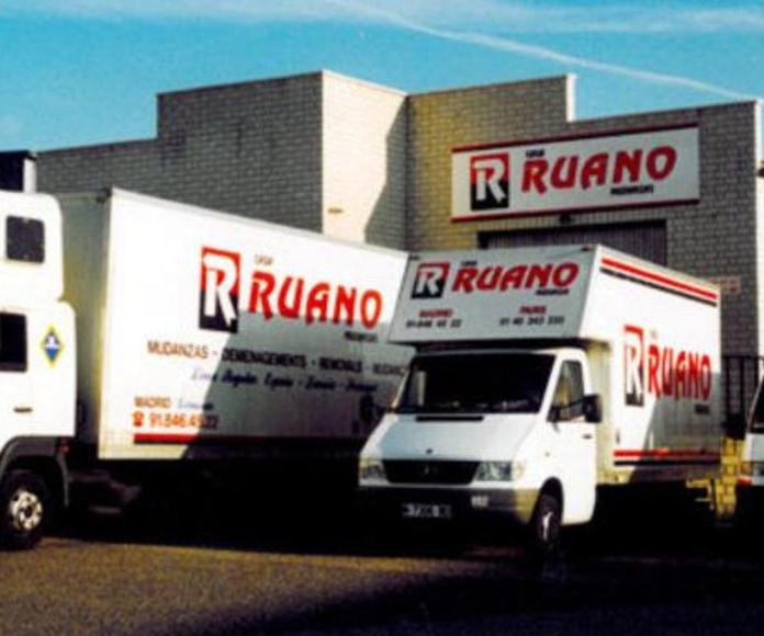 Empresa de mudanzas Ruano