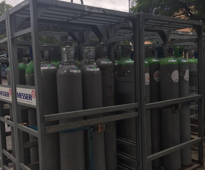 Suministro de Gases en Botellas