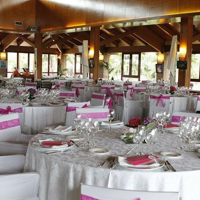 Cómo colocar los platos en una boda