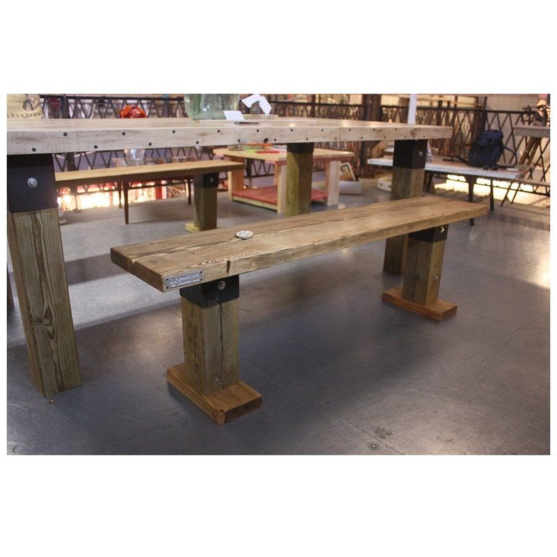 PFF. 007 · Banco Marta: Muebles de Paletto´s Furnature