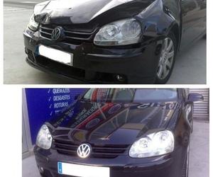 Rep. golpe frontal VW Golf