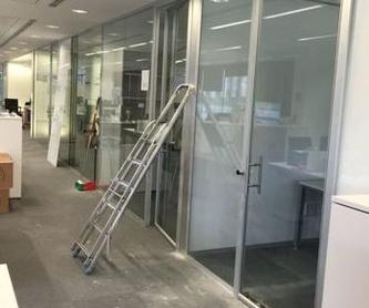 Cortinas de vidrio: Carpintería de aluminio de Carpintería de Aluminio Alberto Mellado
