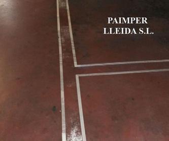 Impermeabilización de depósito de agua potable o no potable: Catálogo de productos de Paimper Lleida, S.L.