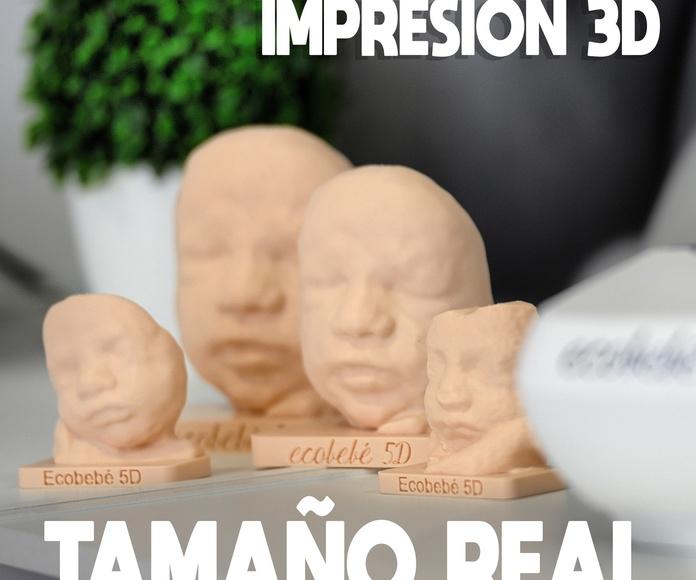 LA CARITA DE TU BEBÉ EN TAMAÑO REAL