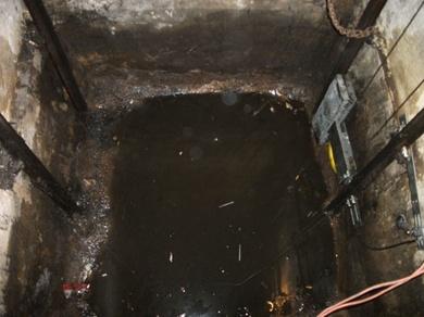 Impermeabilización de fosos de ascensor