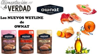 Los Nuevos WETLINE de Ownat , la comida húmeda para GAT@S