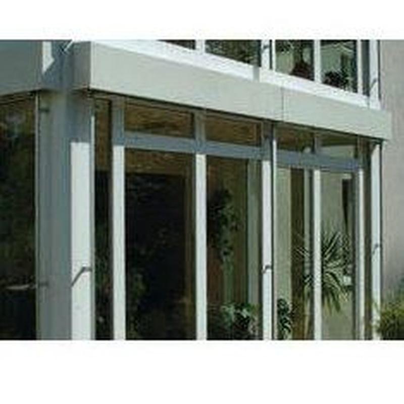 Puertas oscilo-paralelas con sistema deslizante: Productos de Tancaments Finsar