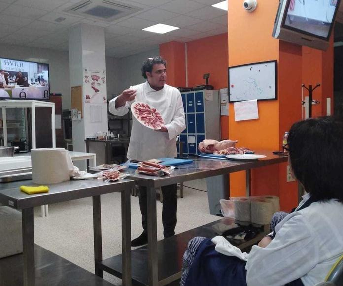 Master Class de Ganso Ibérico . Avila