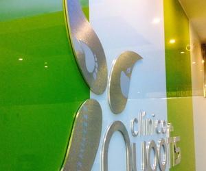 Logotipo en recepción