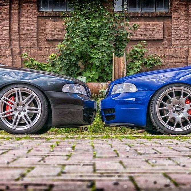 ¿Cómo afectan los neumáticos, los frenos y los amortiguadores a la seguridad?