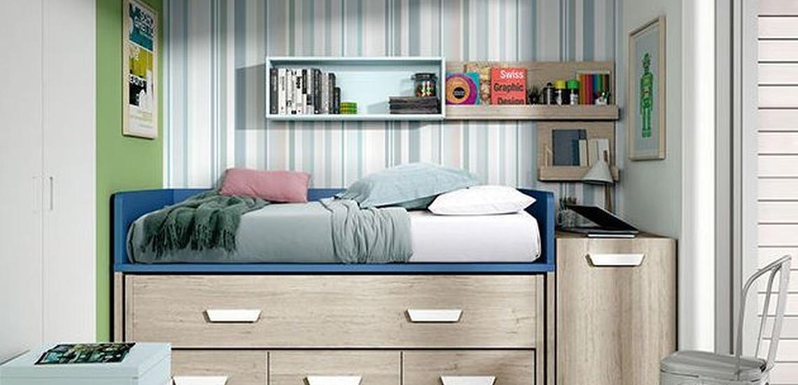 Dormitorios juveniles en Boadilla del Monte