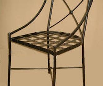 Cama con dosel Roma: Catálogo de muebles de forja de Forja Manuel Jiménez