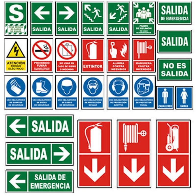 Tipo de señalizadores: Servicios contra incendios de Sistemas contra incendios Madrid