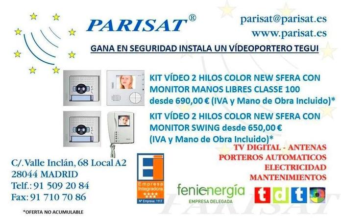 Oferta Videoportero