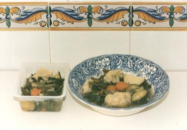 1 - Verduras Hervidas.
