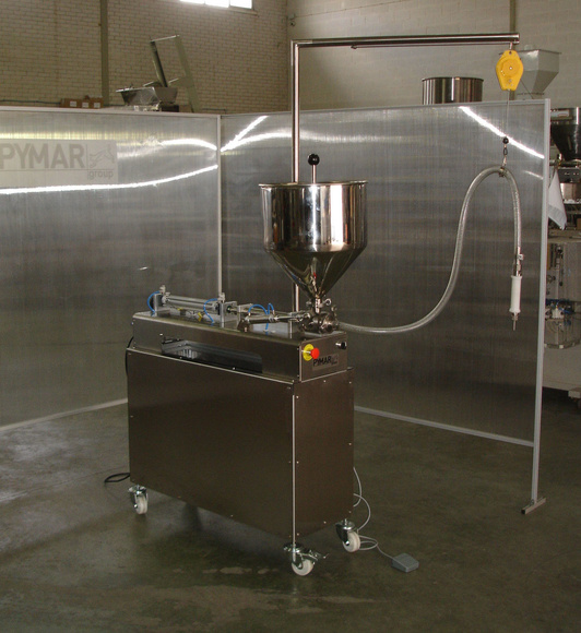 Dosificadora de líquidos y salsas