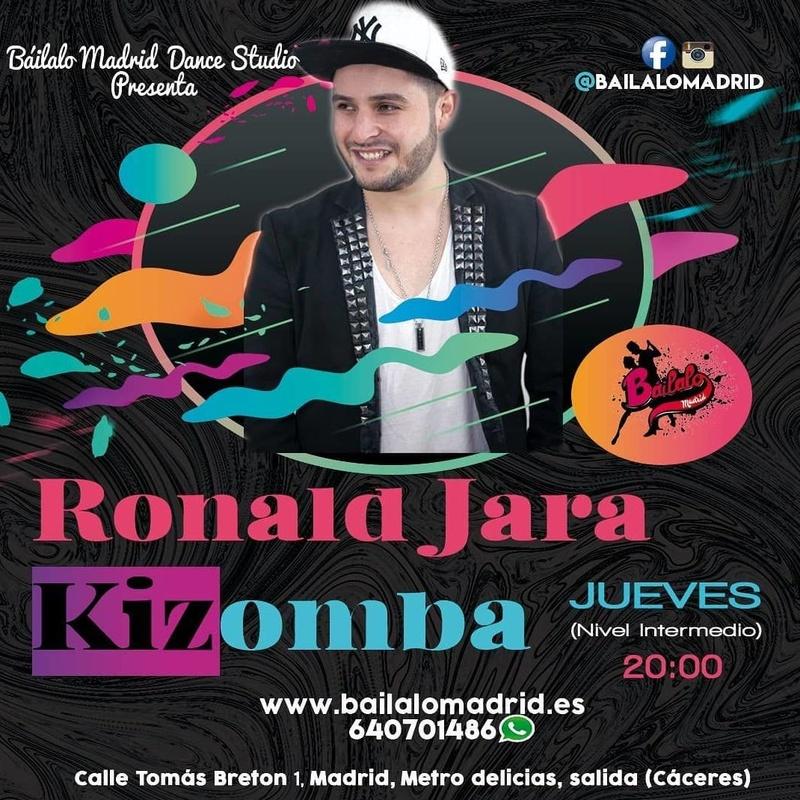 Kizomba Nivel Intermedio: Clases de Baile de Báilalo Madrid