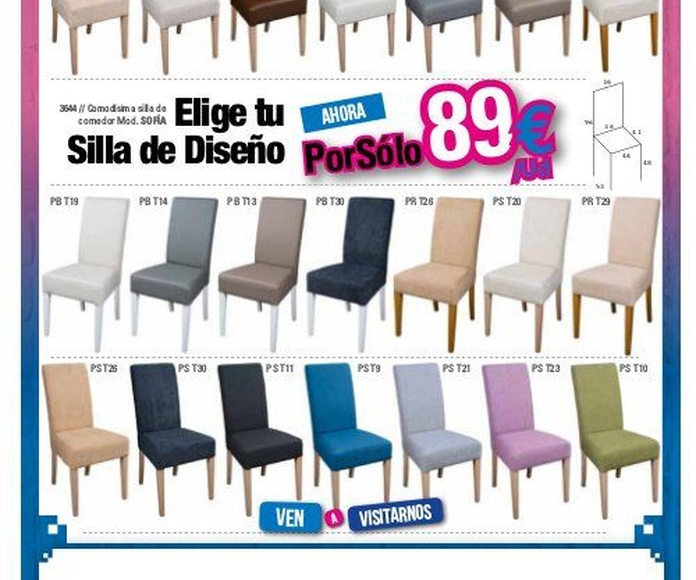 Catálogo Estrena tu hogar: Productos de Muebles Seseña