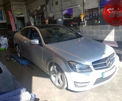 Mercedes W204 - Bilstein & Eibach