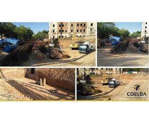 Construcción en Viladecans.