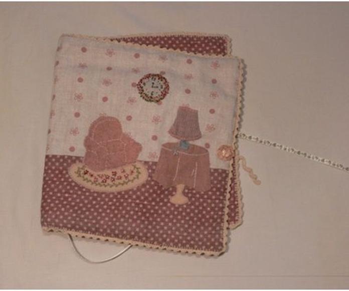 Costurero de lino de patchwork - Kit