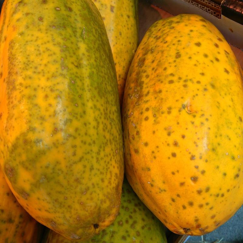 Papaya de Canarias