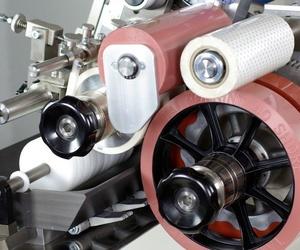 Máquina autónoma para impresión por tampón giratoria