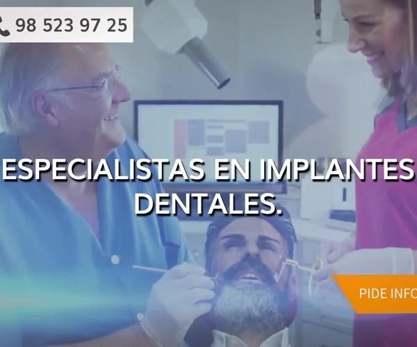 Prótesis sobre implantes dentales Oviedo   Enrique R. Rosell