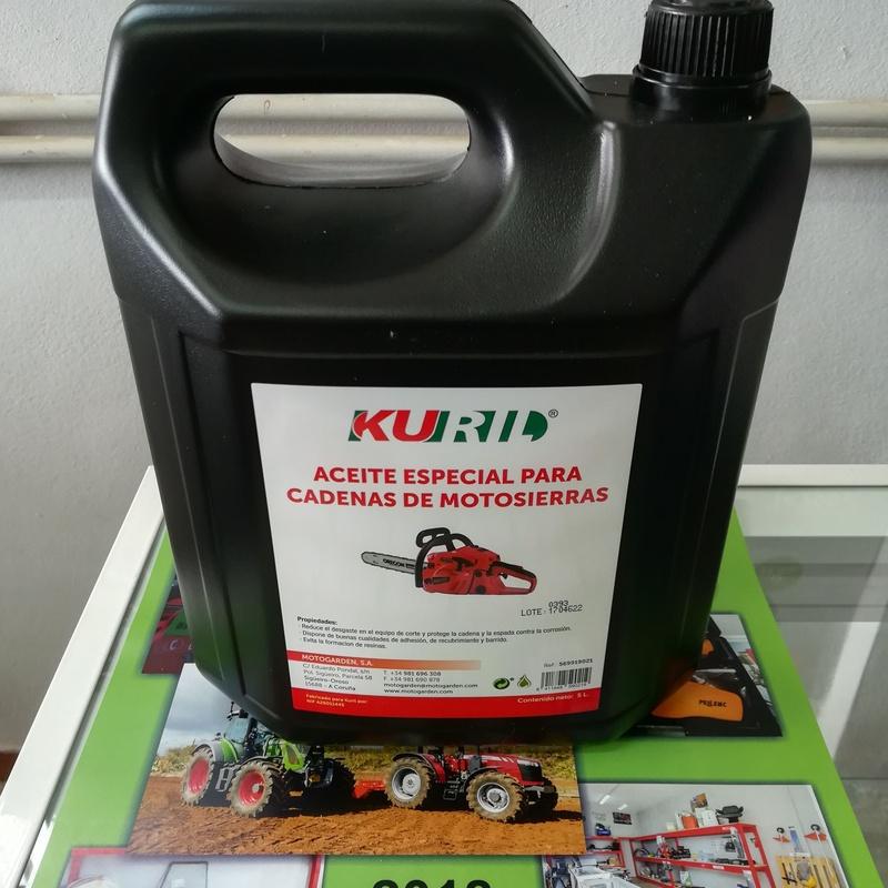 Aceite Especial para Cadenas de Motosierras (Kuril)