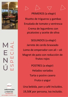 Restaurante Somallao Rivas Vaciamadrid Menú especial