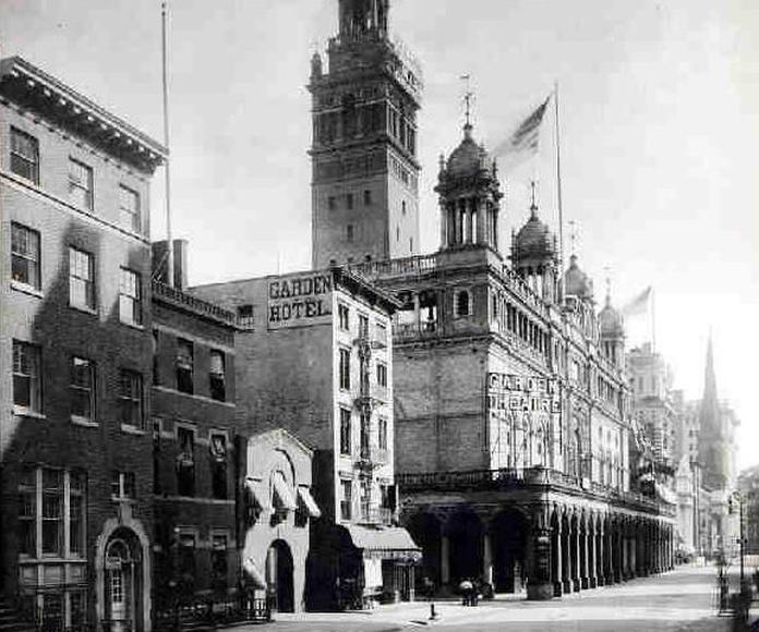Madison Square Garden y la Giralda de Sevilla