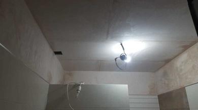 Construcción Baño nuevo con plato de ducha construido in situ