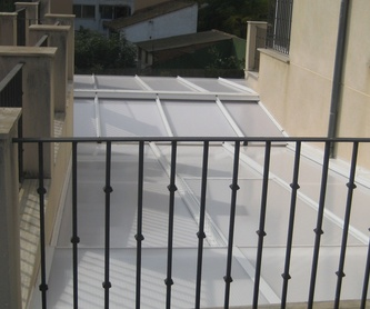 Barandillas de hierro y acero inoxodable: Productos y sevicios de Rafelmetal, S.L.