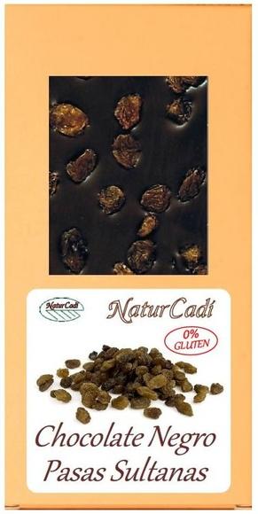CHOCOLATE NEGRO CON PASAS SULTANAS: Productos de Rexgosa®