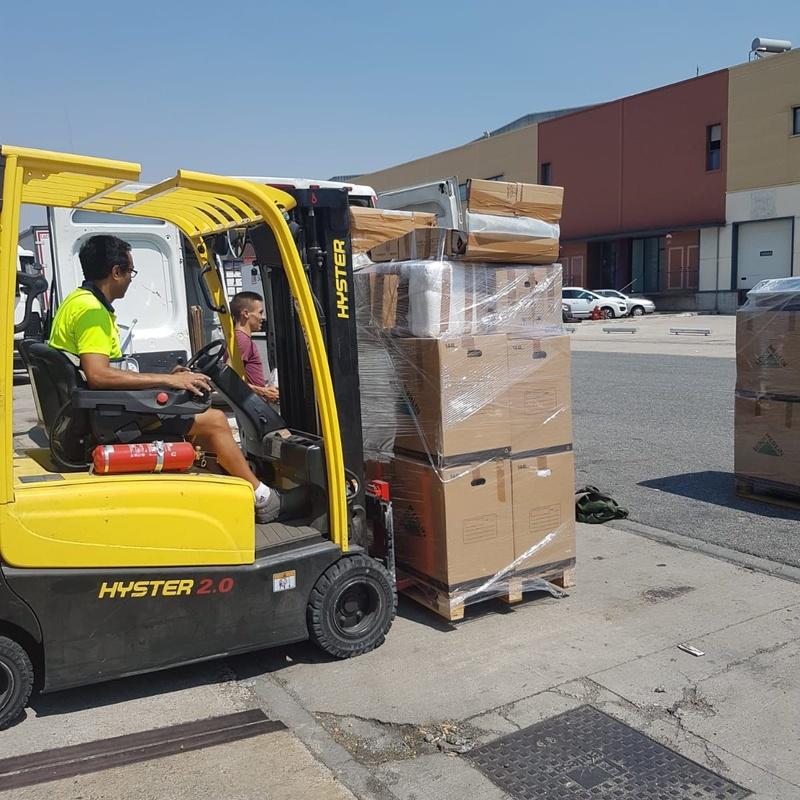 Transportes de mercancías: Servicios de Transportes y Mudanzas Macotrans