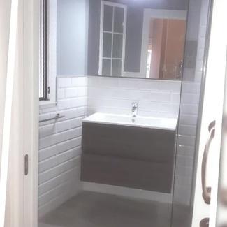 Cuarto de baño terminado. La diferencia está en los detalles