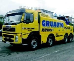 Grúas para vehículos industriales en el gran Bilbao y Vitoria