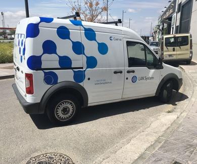 Rotulacion de Ford Tránsit Connec