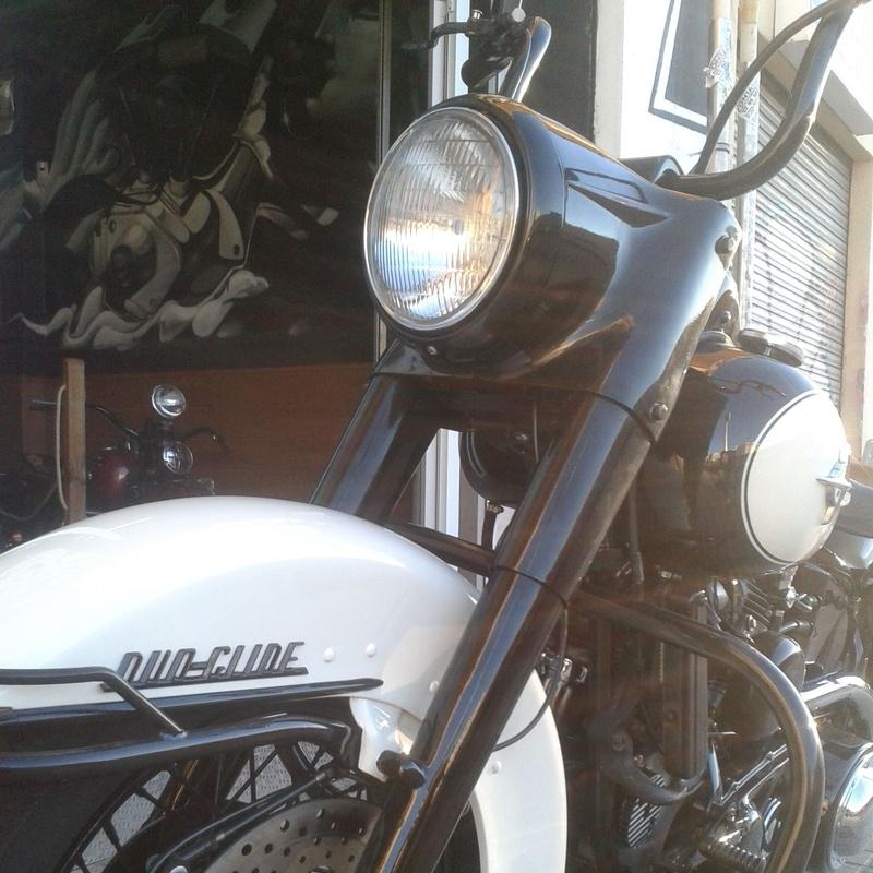 transformación motos custom, restauracion motos clasicas, harley davidson