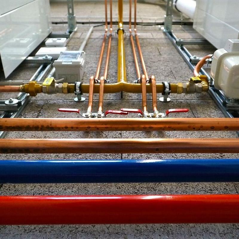 Agua caliente sanitaria: Servicios de Tefcan, S.L