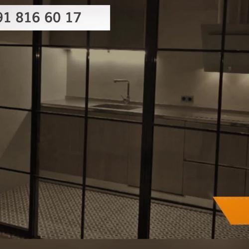 Cristalera de estilo industrial en Madrid centro   Cerrajería Geyma