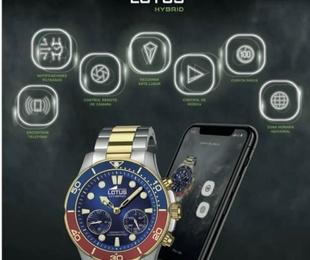30% descuento relojes Lotus Hybrid y Viceroy Smart