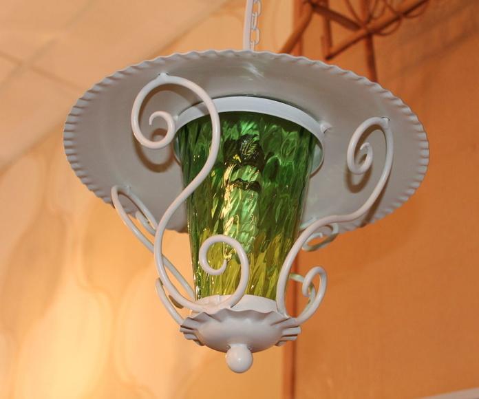 Lámpara farolillo años 50: Artículos  de Ruzafa Vintage