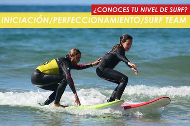 Nivel de surf