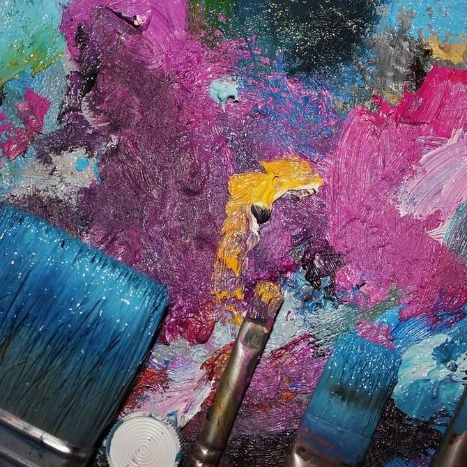 El contraste de colores en la decoración