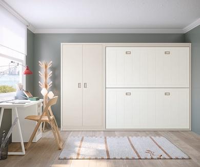 Nueva colección de dormitorios juveniles lacados