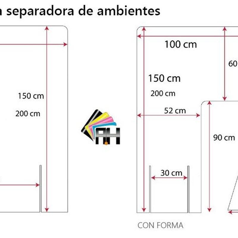 MAMPARA SEPARADORA DE AMBIENTES