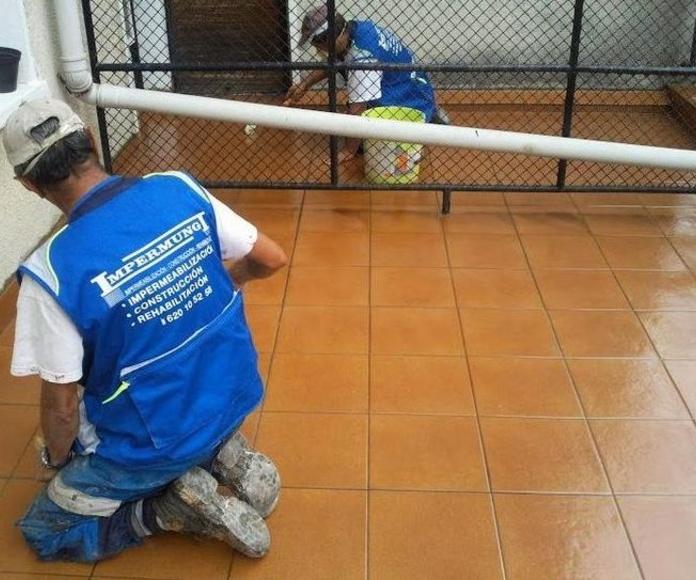 Rehabilitación de cubiertas: Trabajos realizados de Impermungi, S.L.