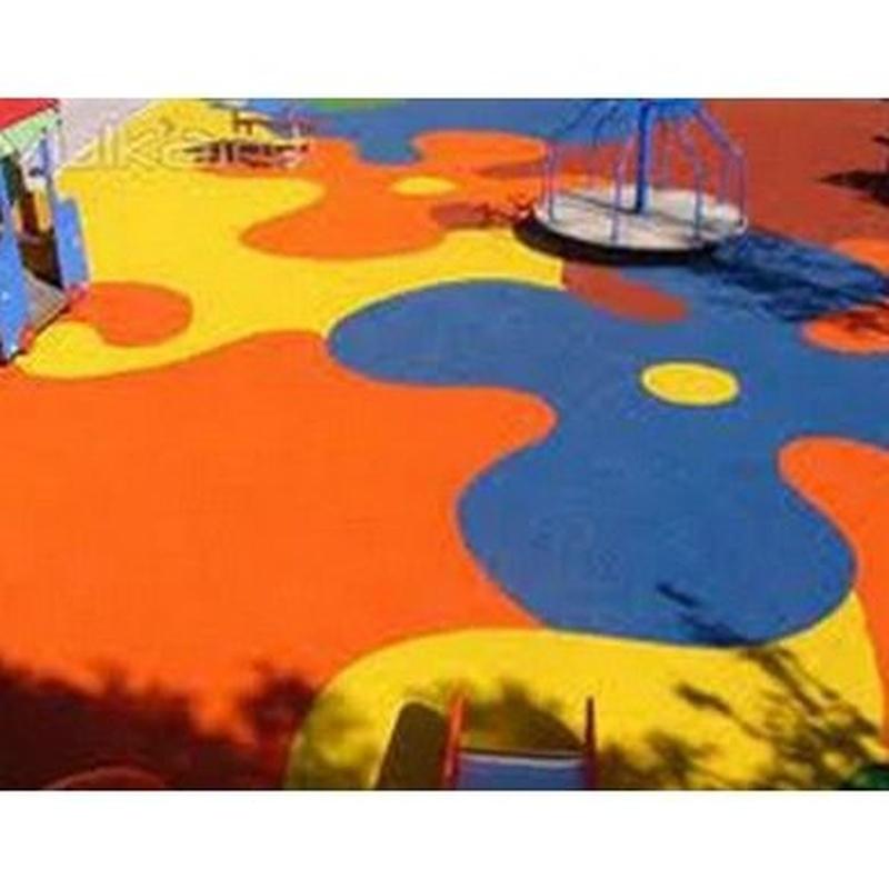 Pavimentos de caucho: Servicios de Teimsa